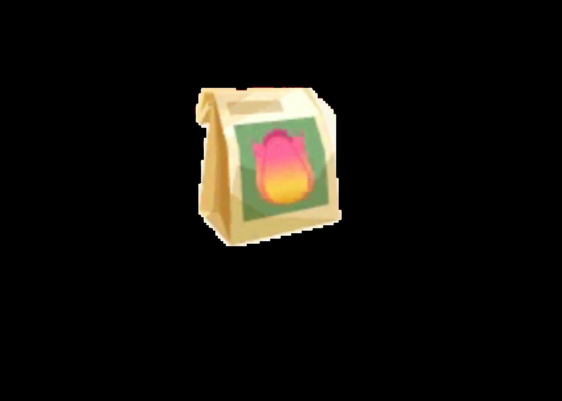 ポケ森 ピンクのスプリングチューリップのタネ