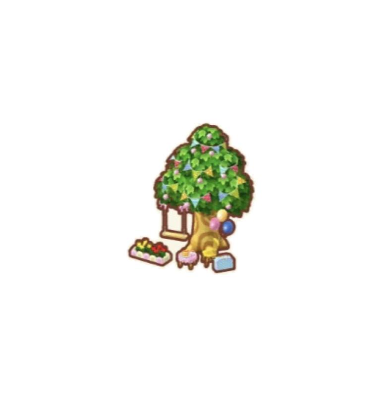 ポケ森 木のブランコ