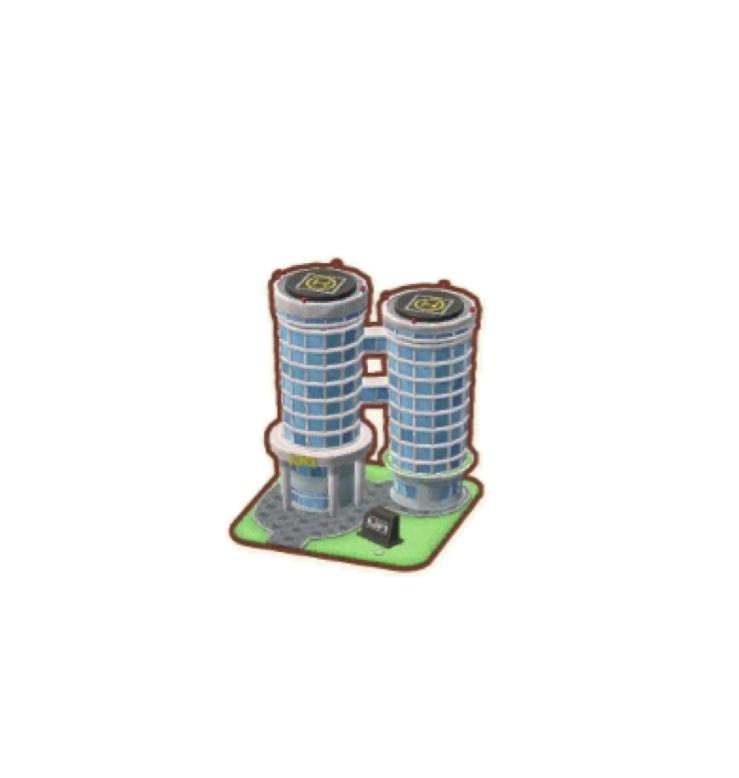 ポケ森 オフィスタワー
