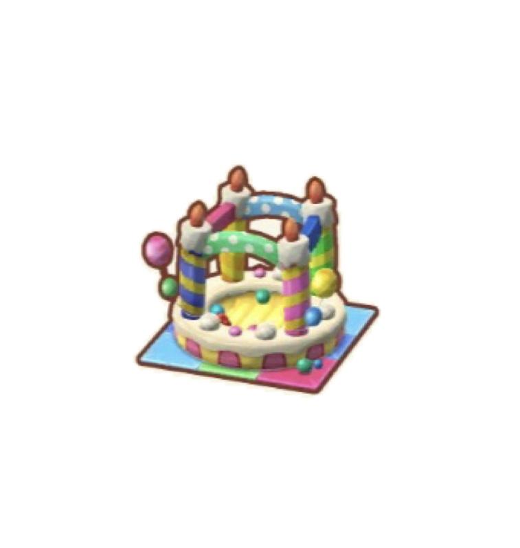 ポケ森 ケーキのポールプール