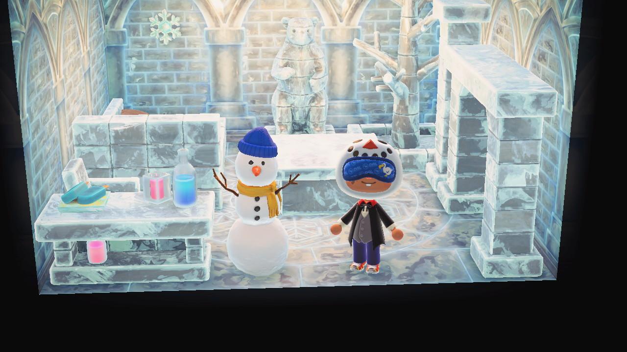 雪だるま 家具 あつ森