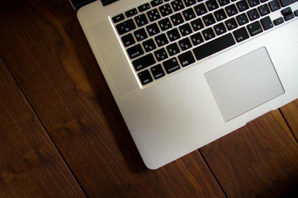 パソコン キーボードの写真
