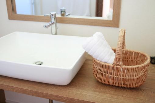 洗面台 スキンケア