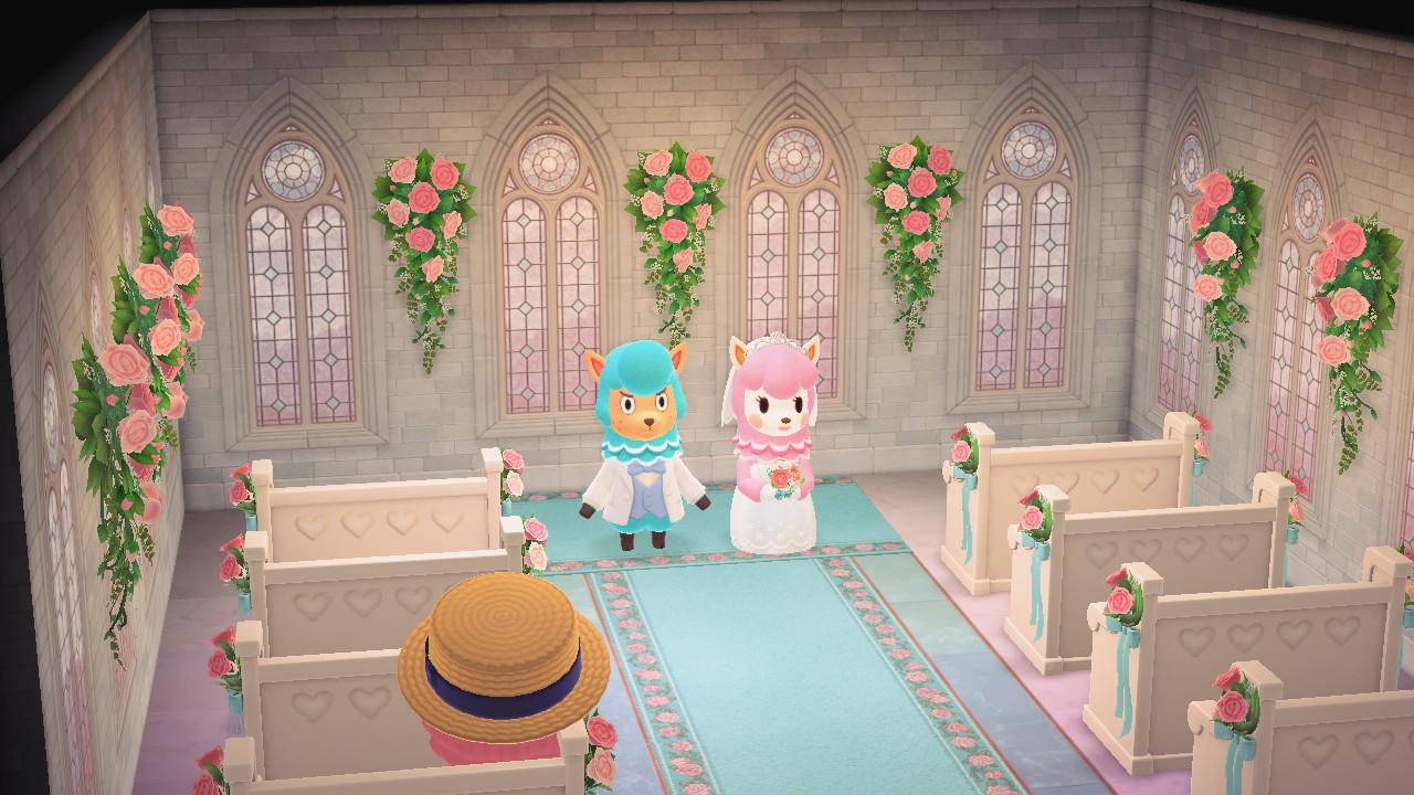 あつ森 結婚式の配置