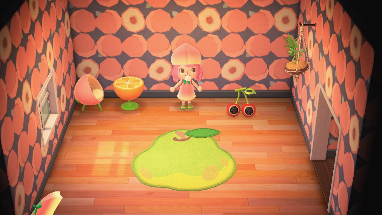 あつ森 フルーツの部屋
