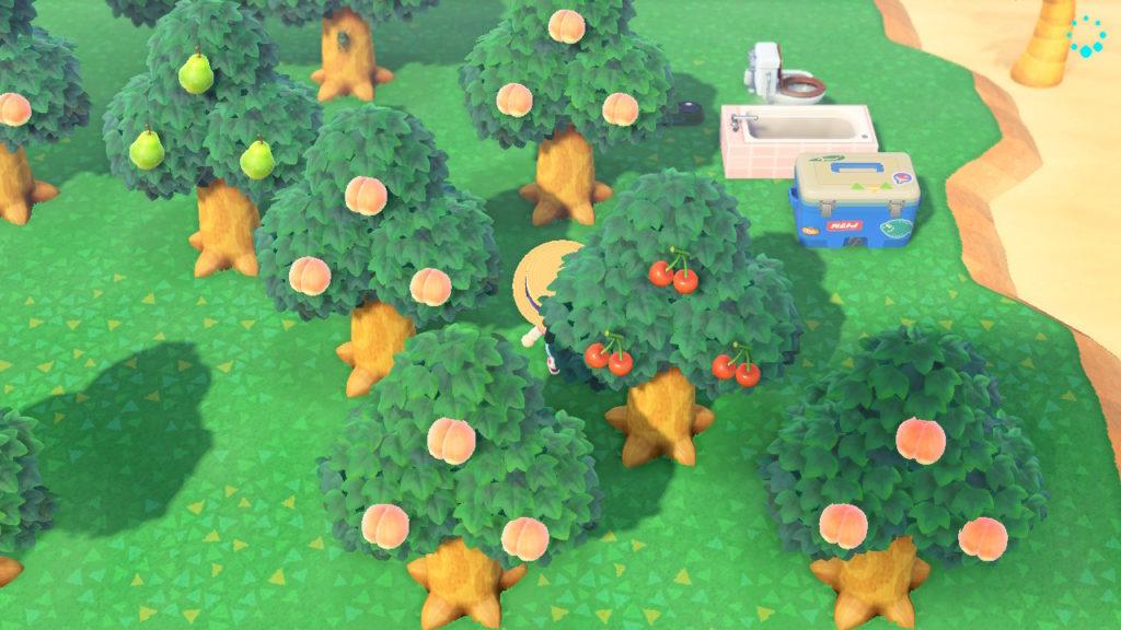 あつ森 島になっているフルーツ