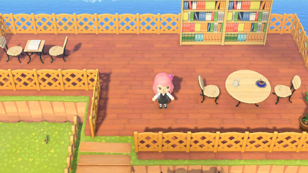 あつ森 カフェ 2階