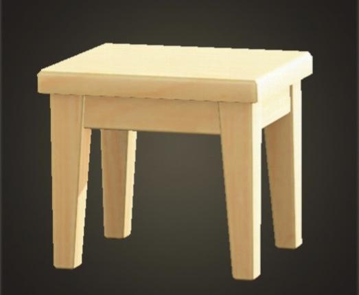 あつ森 もくせいのミニテーブル