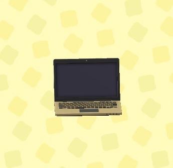 あつ森 ノートパソコン