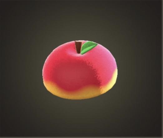 あつ森 リンゴのぼうし