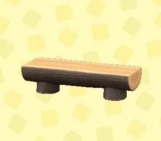 あつ森 まるたのベンチ
