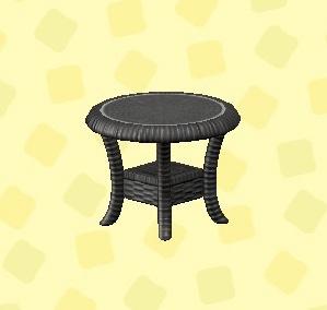 あつ森 ラタンのサイドテーブル