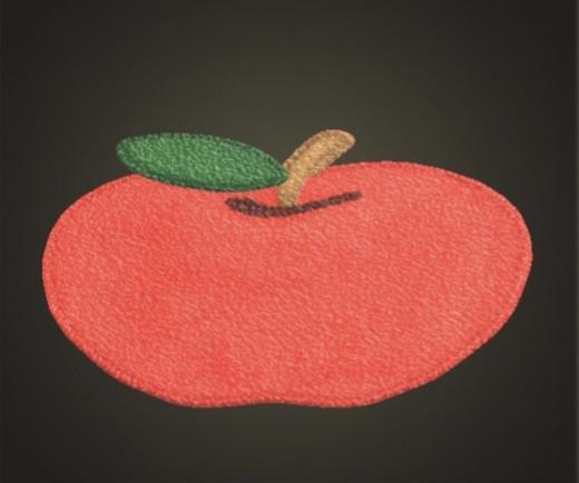 あつ森 リンゴのラグ