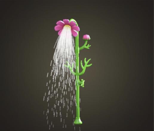 あつ森 コスモスのシャワー