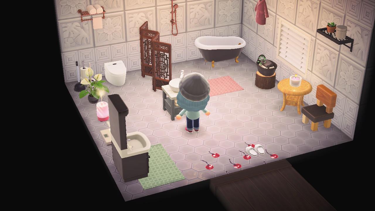 あつ森 バスルーム