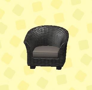 あつ森 ラタンのソファ