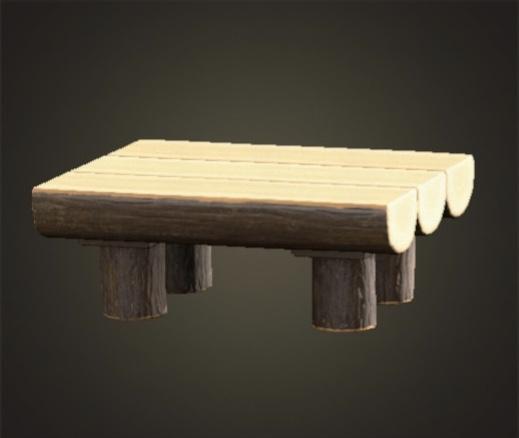 あつ森 まるたのダイニングテーブル
