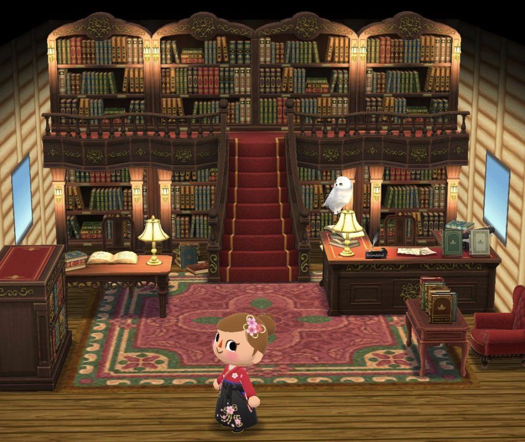 ポケ森 図書館