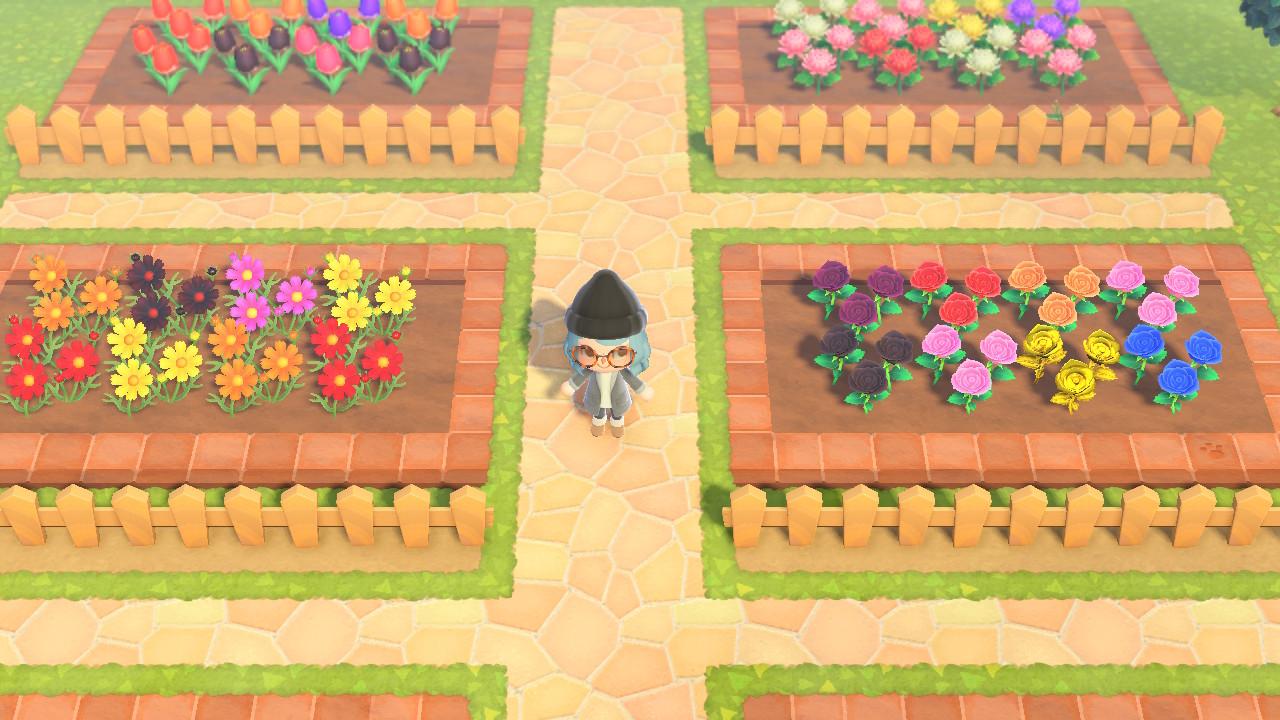 あつ森 花壇