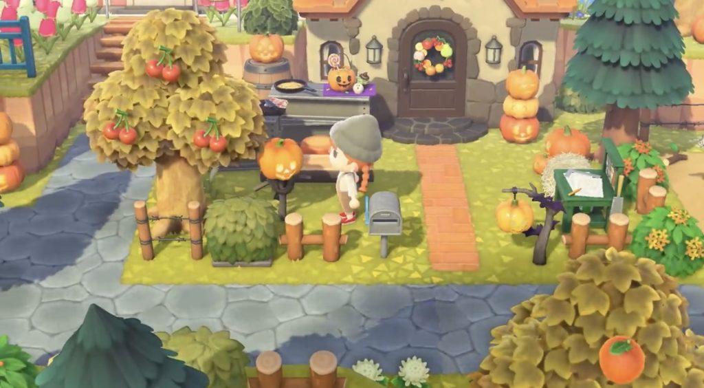 あつ森 かぼちゃの家具