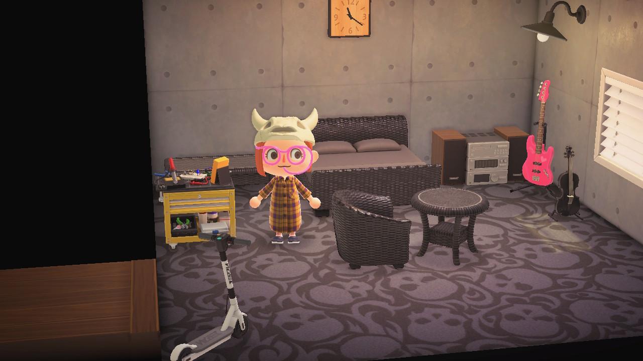 あつ森 スパークの部屋の再現